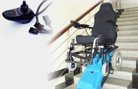 履带式爬楼电动轮椅操作视频