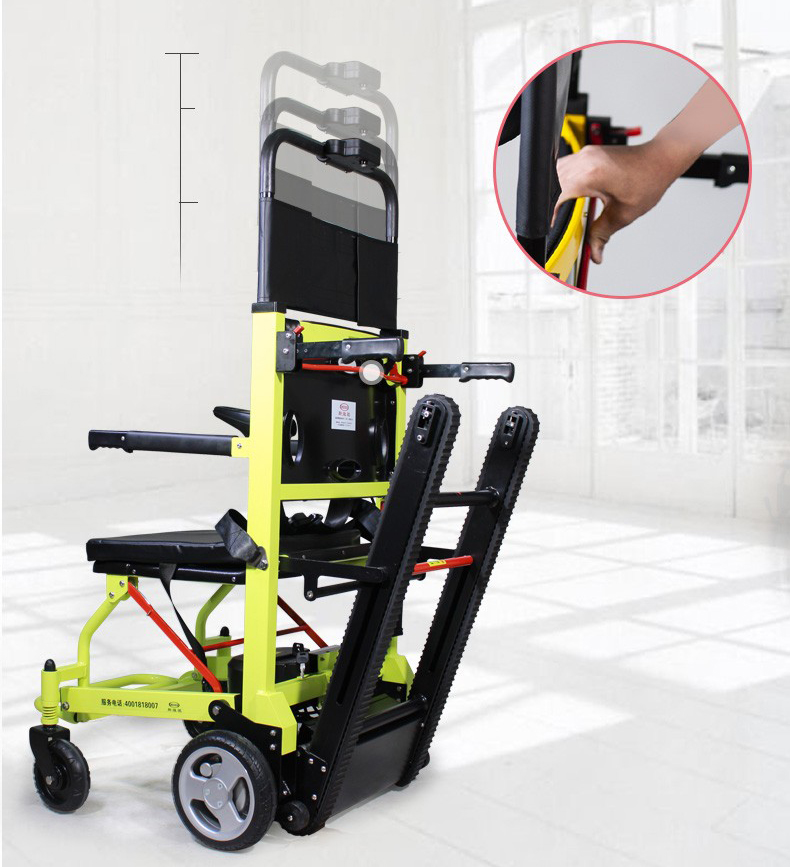 斯维驰爬楼轮椅可调式靠背操作更轻松