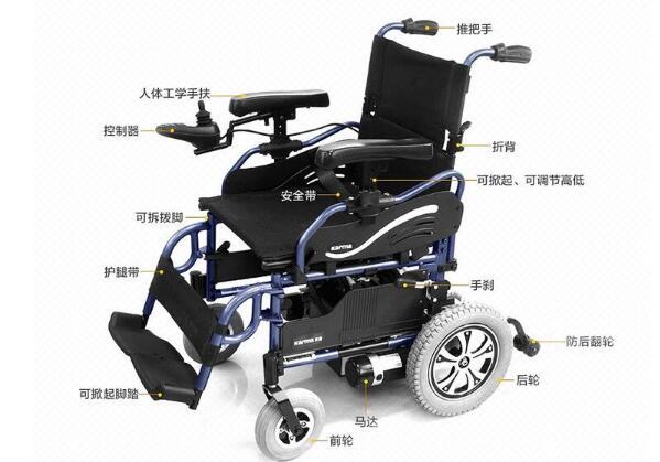 电动轮椅维修常见故障
