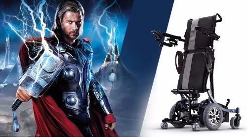 雷神托尔 VS 康扬KP-80站立式轮椅