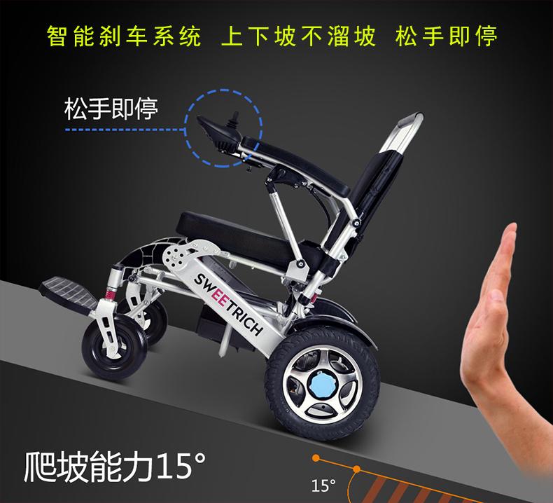 斯维驰SW008电动轮椅,斯维驰电动轮椅,斯维驰SW008折叠电动轮椅