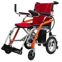 金百合电动轮椅D11|轻便折叠锂电池电动轮椅