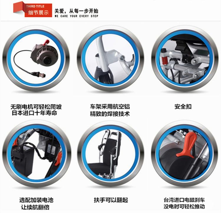 迈乐步电动轮椅细节图片