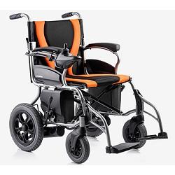 鱼跃电动轮椅D130H轻便折叠老人残疾人电动代步车