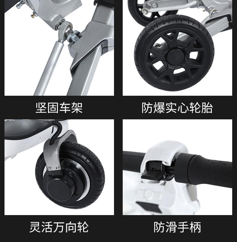 迈乐步S07行李箱式折叠老年电动代步车细节设计精益求精