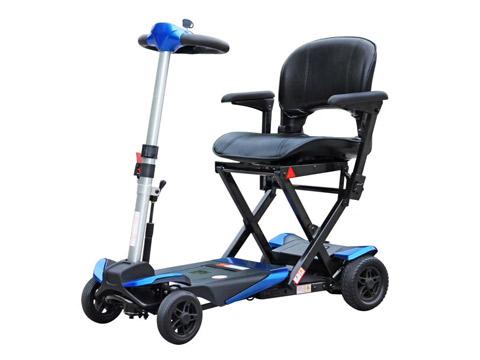 折叠老年电动代步车是老年人的理想代步工具