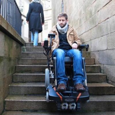 高大上全自动爬楼电动轮椅你想买吗?