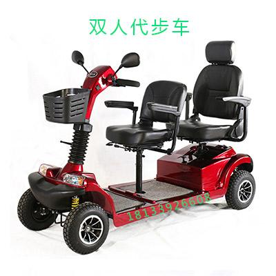 威之群双人电动代步车