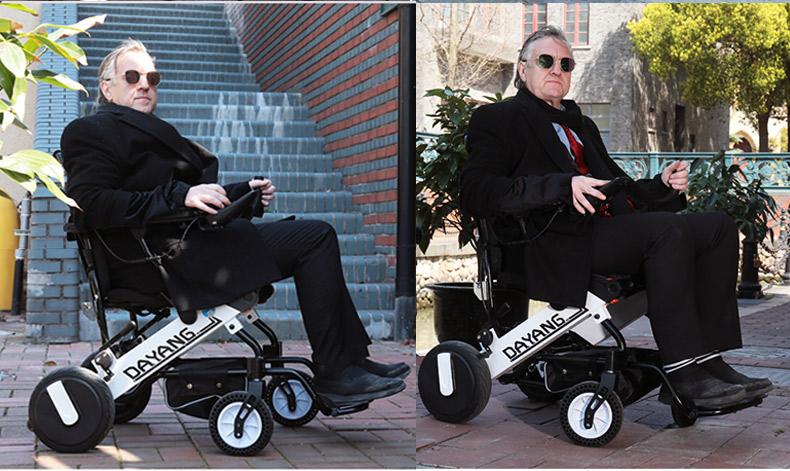 达洋DY105电动轮椅图片及价格