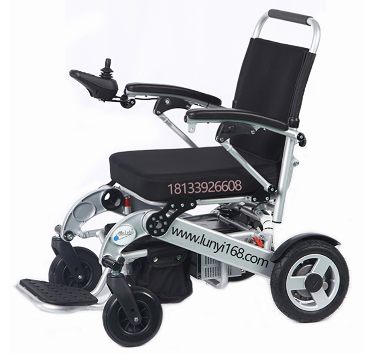 迈乐步轻便折叠锂电池电动轮椅