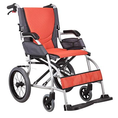 康扬轮椅KM2501超轻折叠便携式轮椅车仅重9公斤