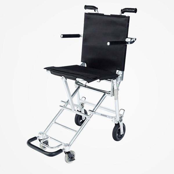 超轻量中进折叠便携式轮椅 可以提着上飞机