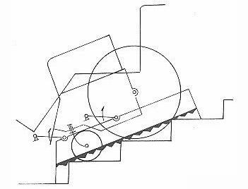 手动爬楼梯的轮椅的原理 爬楼轮椅车原理详解