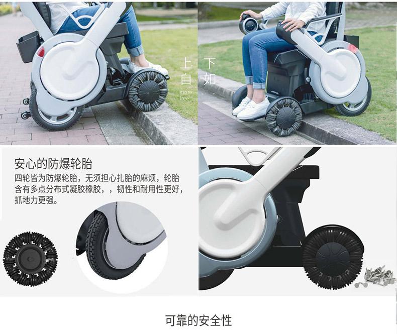 智能电动轮椅为残疾人赋能