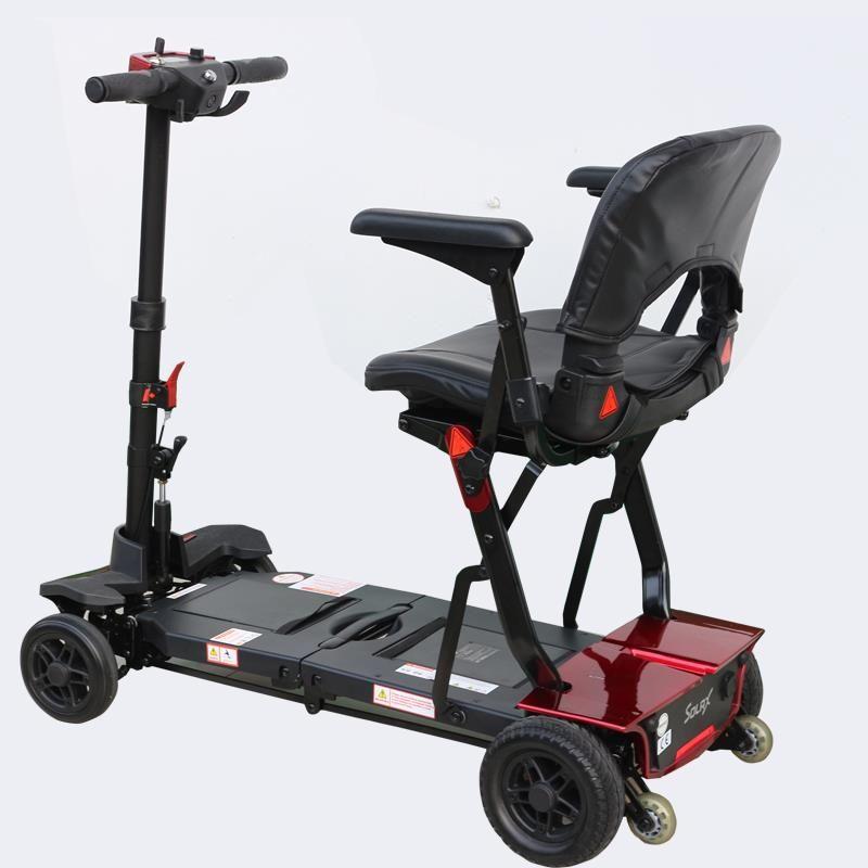 遥控折叠便携式老年电动代步车