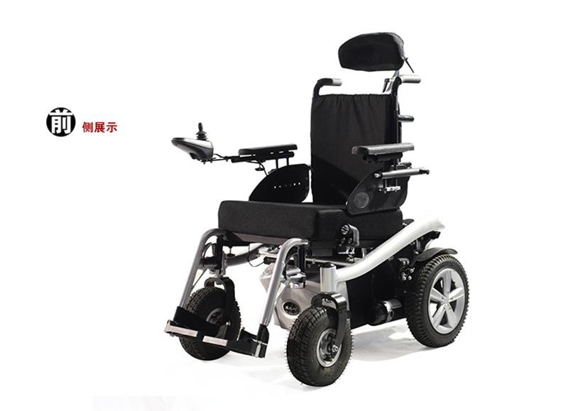 威之群电动轮椅1023-36侧面图