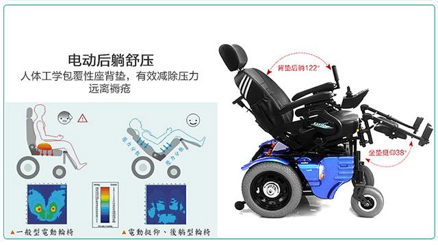 康扬电动轮椅KP45.3TR