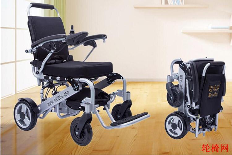 迈乐步A07旅行折叠电动轮椅