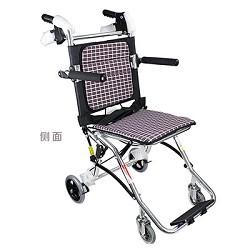 鱼跃轮椅1100_ 铝合金轻便折叠轮椅_老人残疾人旅行轮椅车