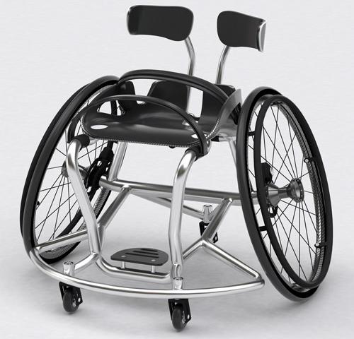 """为什么运动轮椅的轮圈是""""八""""字形"""