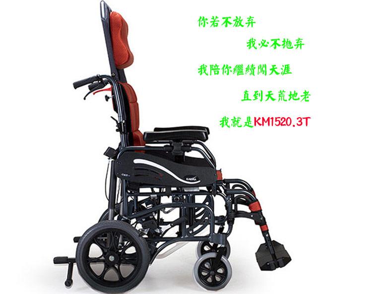 康扬进口轮椅KM1520.3T