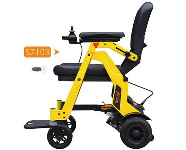 舒莱适小型电动轮椅