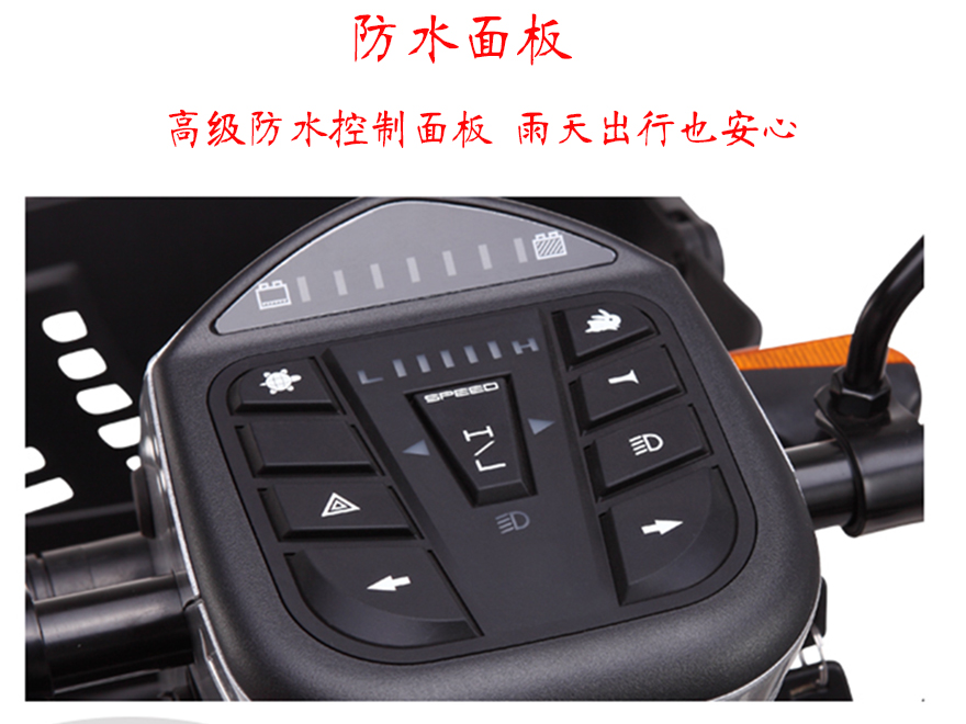 康扬电动老年代步车KS700防水控制面板