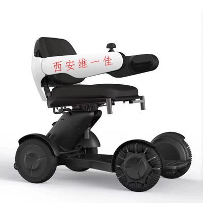 电动轮椅电源显示灯闪烁不走是怎么回事?