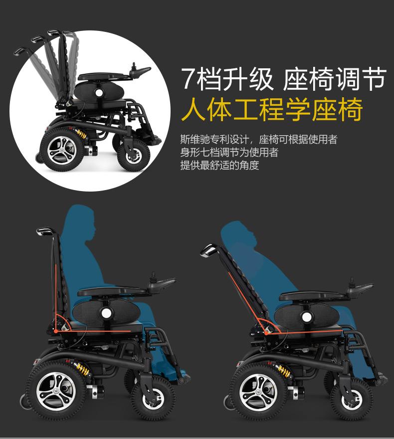 斯维驰SW1102C电动轮椅