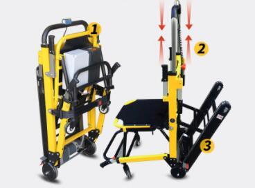 残疾人用的能上下楼梯电动轮椅车