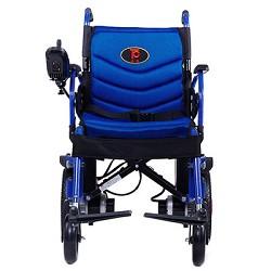 泰康电动轮椅46A4老人残疾人折叠电动轮椅车
