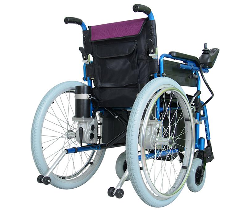 智维电动轮椅EW8703A,轻便折叠老人残疾人电动轮椅车
