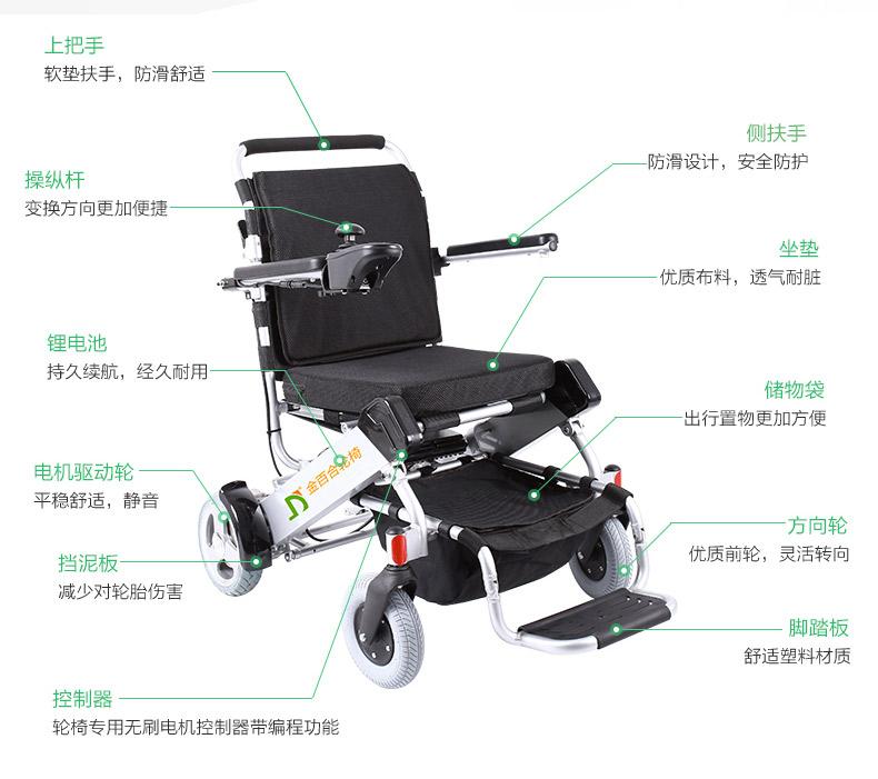 金百合D05电动轮椅