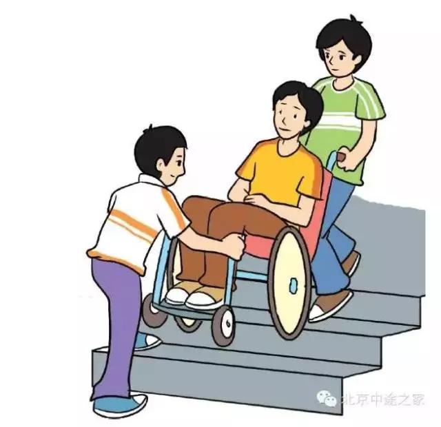 手推轮椅的使用技巧