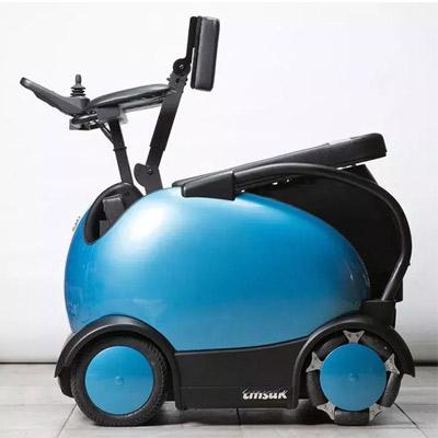 日本发明出颠覆传统的可以骑行的智能残疾人电动轮椅