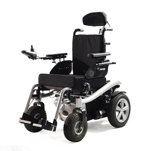 威之群电动轮椅1023-36老年残疾人豪华款电动轮椅车