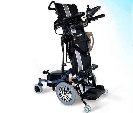 可以自动站立的多功能电动轮椅