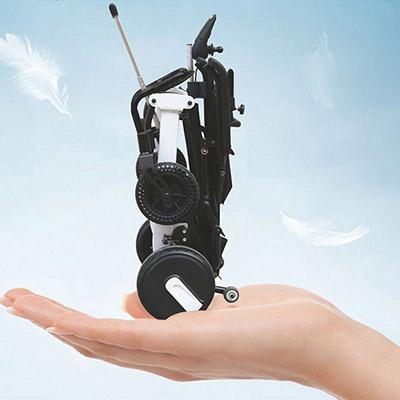 有了折叠便携式电动轮椅,祖国大好河山任你行