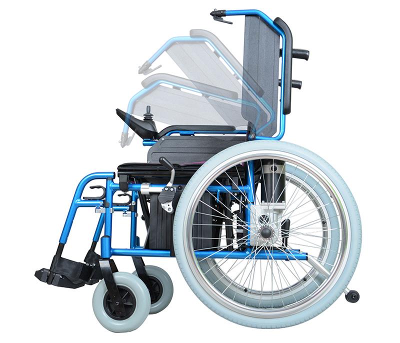 智维电动轮椅EW8703A 折叠电动轮椅车