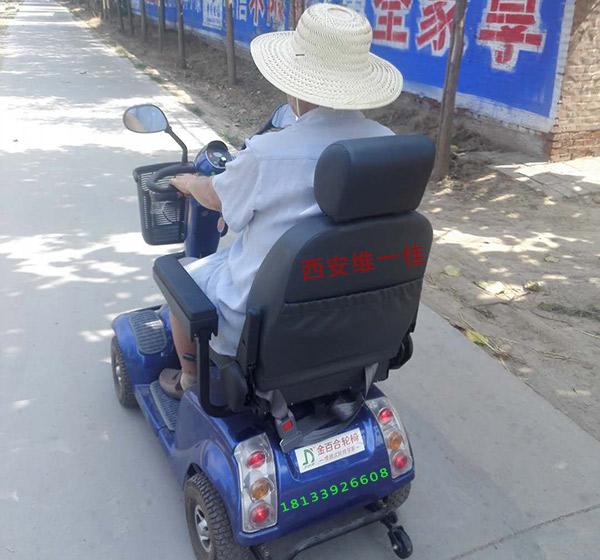 衡水高师傅购买金百合DB-12代步车的小插曲