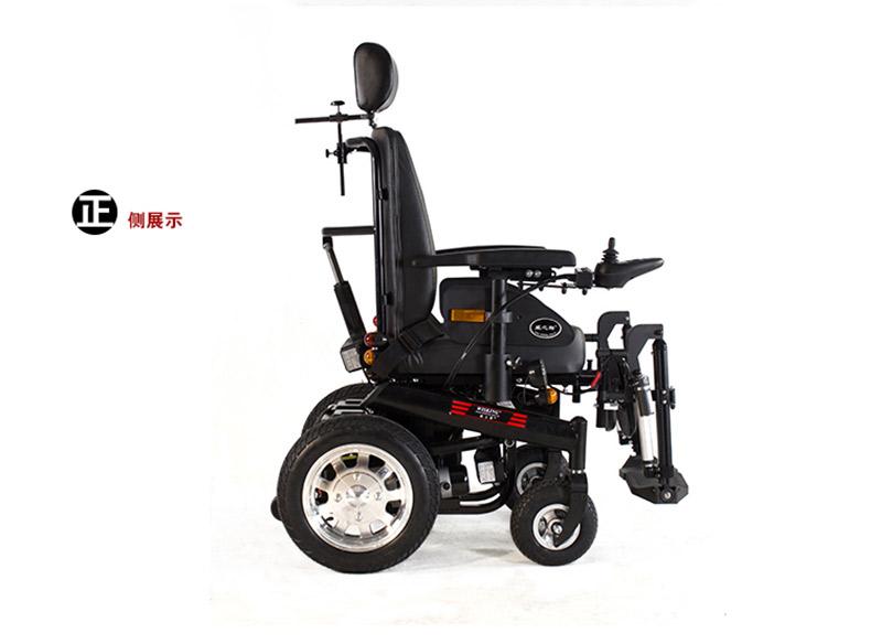 威之群1023-31电动轮椅侧面效果图
