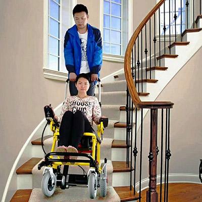 电动爬楼轮椅安全好操作吗