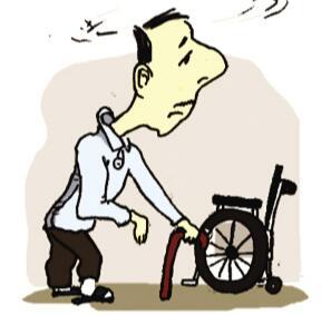 中风偏瘫患者离开轮椅怎么锻炼走路