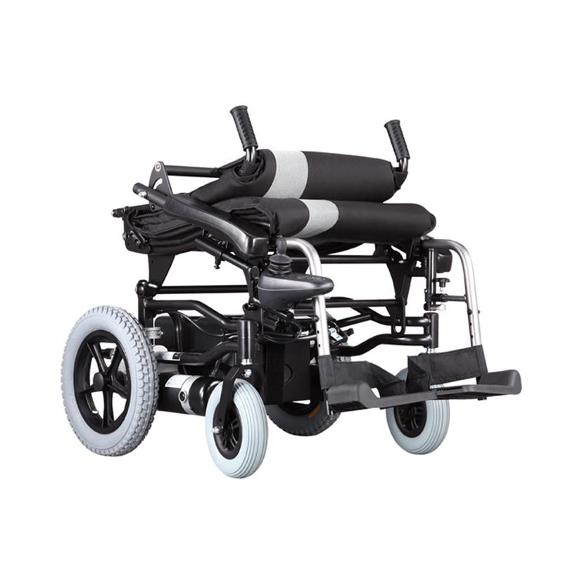 折叠轮椅不光有优点还有缺点