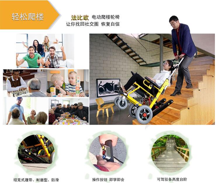 电动爬楼轮椅示意图