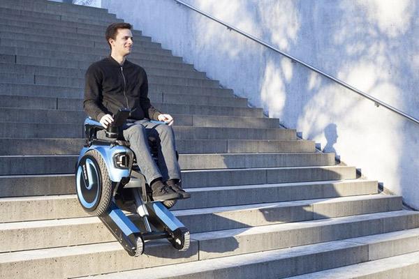 Scewo电动爬楼轮椅