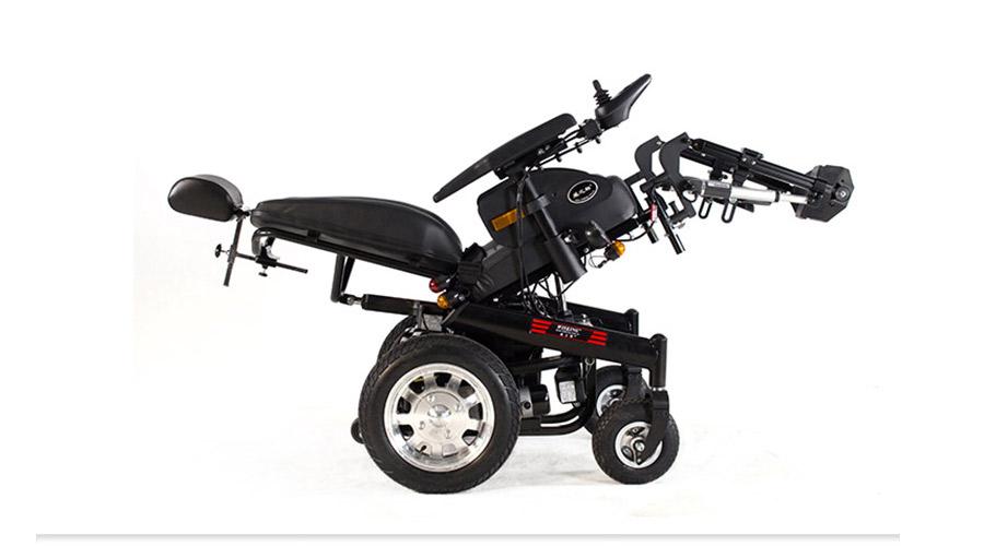威之群1023-31多功能电动轮椅展示图
