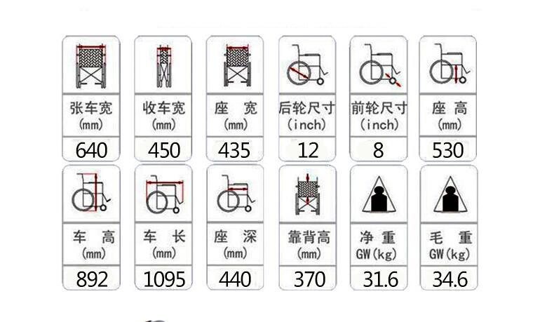互邦HBLD2-F双锂电电动轮椅车参数