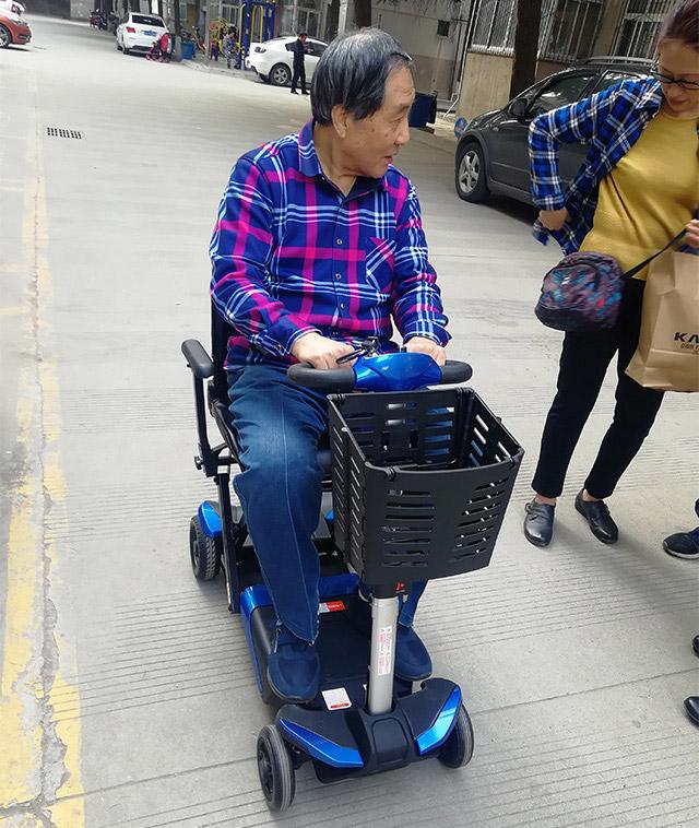 舒莱适S3021遥控折叠代步车