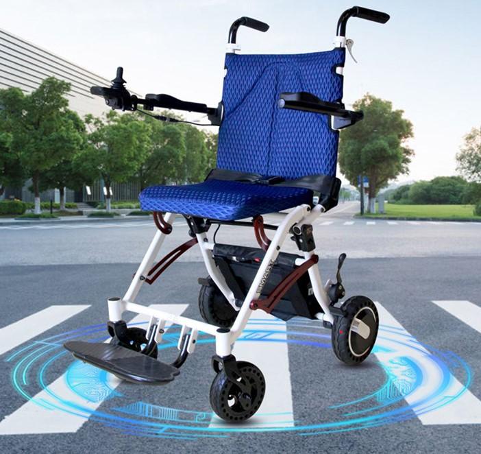 达洋电动轮椅DY108超轻折叠便携式锂电池电动轮椅车